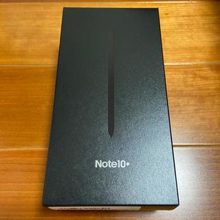Galaxy - 【新品・未使用】Galaxy Note10+(plus)  オーラブラック