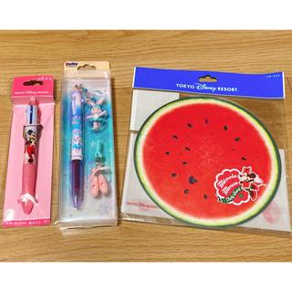 Disney - TDR♡メモ帳 ボールペンセット♡