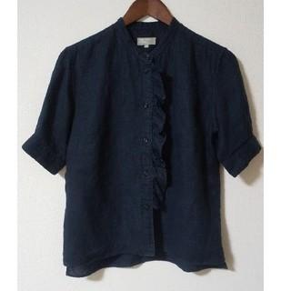 MARGARET HOWELL - MARGARET HOWELL 麻の半袖シャツ