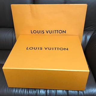 ルイヴィトン LOUIS VUITTON 箱 紙袋 ショップ袋 セット(ショップ袋)
