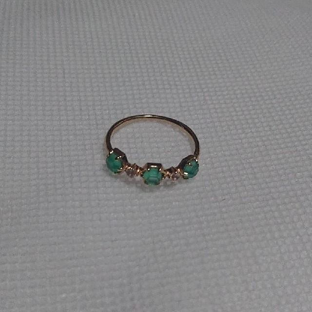agete(アガット)のアガット agete  カラーストーン リング レディースのアクセサリー(リング(指輪))の商品写真