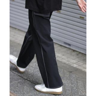 UNUSED - sheba 20aw 別注 PIN TUCK PANTS