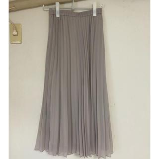 ユニクロ(UNIQLO)の8月末まで限定出品☆UNIQLO プリーツスカート(ロングスカート)