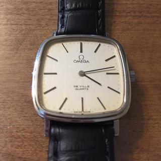 オメガ(OMEGA)の【ジャンク品】OMEGA オメガ De ville デビル クォーツ(腕時計(アナログ))
