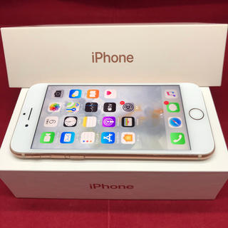 アップル(Apple)のiPhone8 64GB SIMフリー(スマートフォン本体)