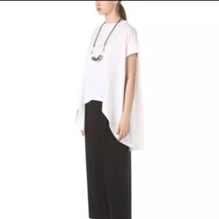 エンフォルド(ENFOLD)の美品enfold☆人気オーバーサイズ半袖カットソー(Tシャツ(半袖/袖なし))