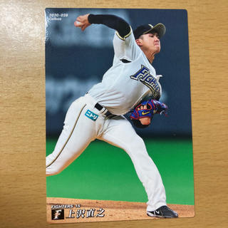 カルビー(カルビー)のプロ野球 チップス2020  付録カード 上沢選手(スポーツ選手)
