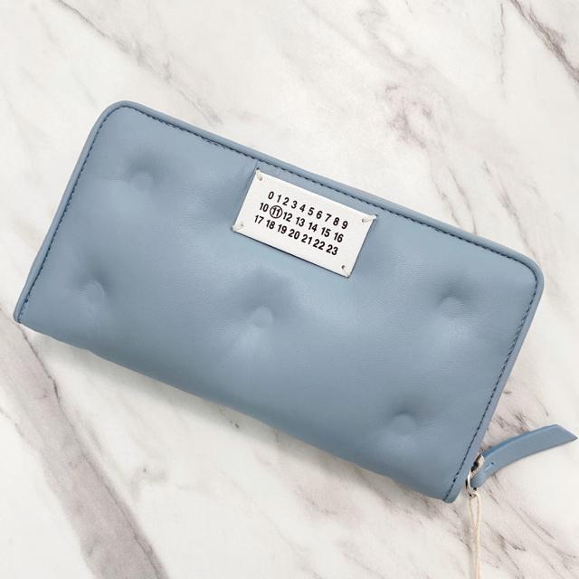 Maison Martin Margiela(マルタンマルジェラ)のラスト1【新品】Maison Margiela グラムスラム 長財布 水色 レディースのファッション小物(財布)の商品写真