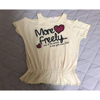 イングファースト(INGNI First)のINGNI 肩出し Tシャツ(Tシャツ/カットソー)