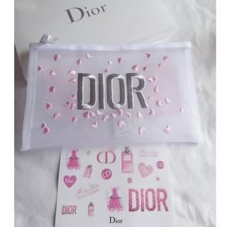 Christian Dior - おまけ付き ディオール メッシュポーチ ノベルティ