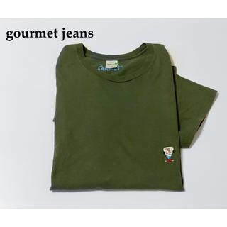SUNSEA - gourmet jeans グルメジーンズ カロリーちゃん 刺繍tシャツ