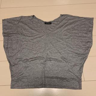 アーバンリサーチ(URBAN RESEARCH)のアーバンリサーチ VネックカットソーTシャツ グレー フリーサイズ(Tシャツ(半袖/袖なし))