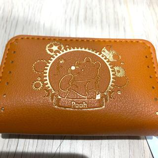 ディズニー(Disney)の箔押しスマートキーケース Pooh(キーケース)
