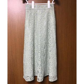 プロポーションボディドレッシング(PROPORTION BODY DRESSING)のプロポーション ミモレレーススカート(ひざ丈スカート)