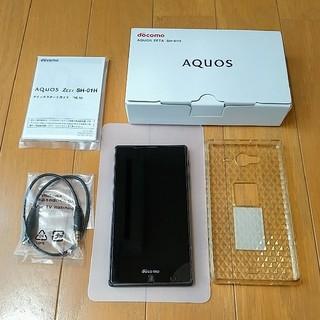 アクオス(AQUOS)のドコモ AQUOS ZETA「SH-01H」(スマートフォン本体)