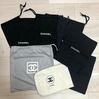 シャネル(CHANEL)のCHANEL シャネル 巾着 保存袋 袋 10点セット(ショップ袋)