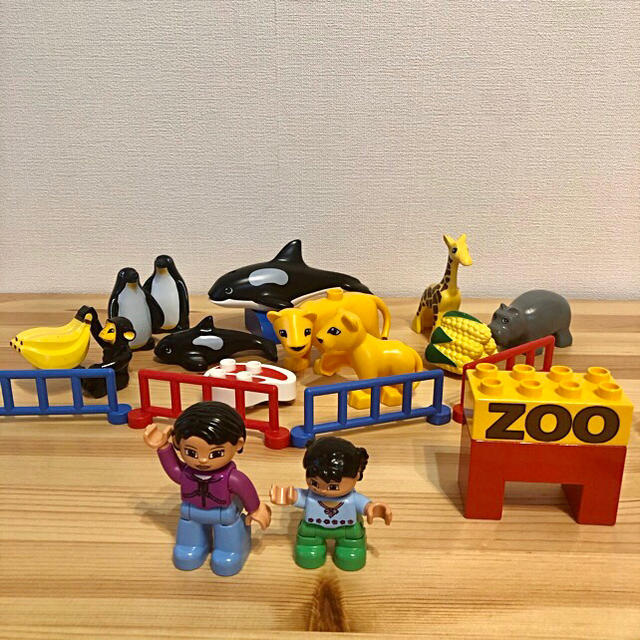 Lego(レゴ)の12 レゴ デュプロ 動物園セット Lego duplo キッズ/ベビー/マタニティのおもちゃ(積み木/ブロック)の商品写真