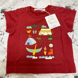 ファミリア(familiar)のファミリア 新品未使用タグ付き Tシャツ 70 定価6,600円(Tシャツ/カットソー)