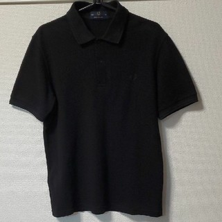 FRED PERRY - フレッドペリー ポロシャツ M12 黒 ラコステ