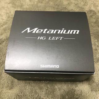 シマノ(SHIMANO)の【新品未使用】シマノ 20メタニウム HG LEFT(リール)