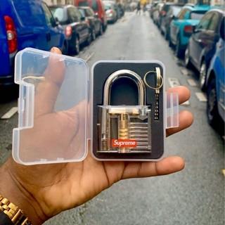シュプリーム(Supreme)の20SS 新品未使用 supreme Transparent Lock 南京錠(その他)