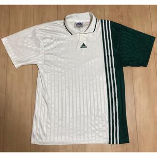 アディダス(adidas)の90年代 adidas アディダス ポロシャツ  ビックシルエット USA製(ウェア)