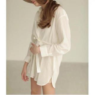 Ameri VINTAGE - louren  waist mark cotton shirts