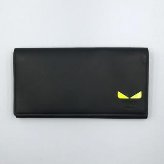 フェンディ(FENDI)の【新品未使用】FENDI フェンディ  長財布 バグズ モンスター ブラック(長財布)