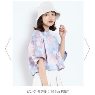 WEGO - WEGO タイダイ Tシャツ レディース ピンク