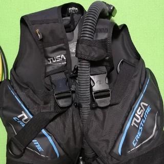 ツサ(TUSA)のダイビング重器材セット4点(マリン/スイミング)