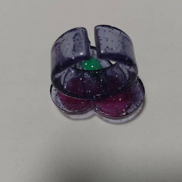 Angelic Pretty(アンジェリックプリティー)のcherry リング 紺 レディースのアクセサリー(リング(指輪))の商品写真