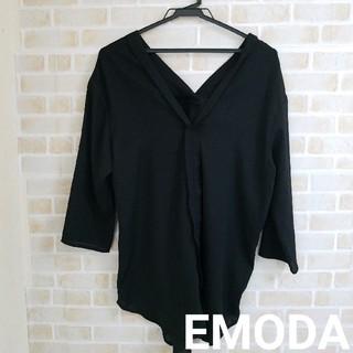 EMODA - EMODA シアー素材 オーバーサイズ ブラウス
