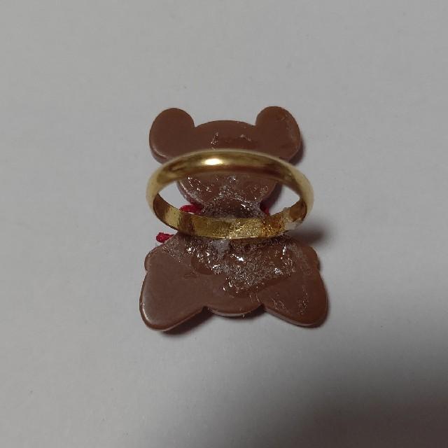 Angelic Pretty(アンジェリックプリティー)の【難あり】くま リング レディースのアクセサリー(リング(指輪))の商品写真