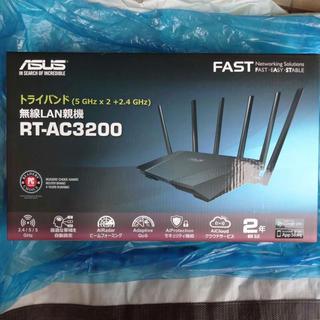 エイスース(ASUS)の新品 ASUS Wi-Fi トライバンドルーター RT-AC3200(その他)