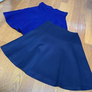 インディヴィ(INDIVI)のクミキョク s2 インディヴィ 05 スカート セット(ひざ丈スカート)