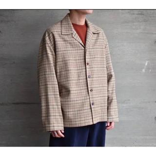 コモリ(COMOLI)のauralee silk summer tweed blouson 18ss(シャツ)