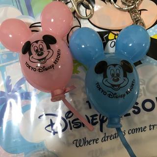 ディズニー(Disney)の新作♡ディズニーリゾート ミッキー  バルーン キーチェーン キーホルダー(キャラクターグッズ)