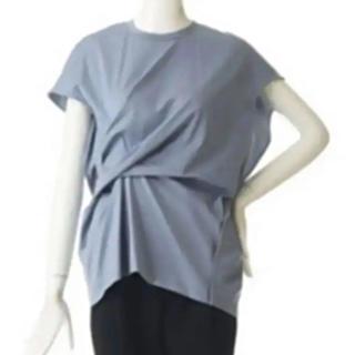 エンフォルド(ENFOLD)のENFOLD☆店舗限定カラー 2019SSシルケット天竺ツイストプルオーバー(Tシャツ(半袖/袖なし))