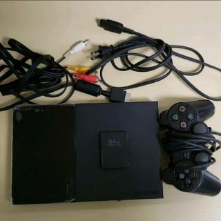 PlayStation2 - 【動作確認済み】PS2本体 SCPH-90000 64MBメモリーカード