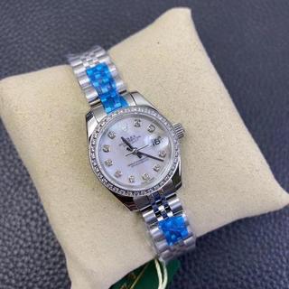 限定本日 ROLEX自動巻 ロレックスレディース  腕時計