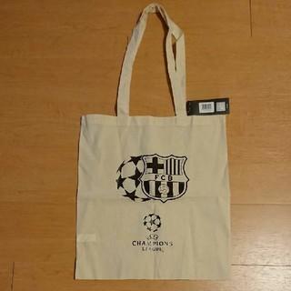FCバルセロナ トートバッグ チャンピオンズリーグ(応援グッズ)