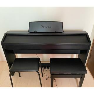 カシオ(CASIO)のCASIO privia PX-750 ブラック(電子ピアノ)