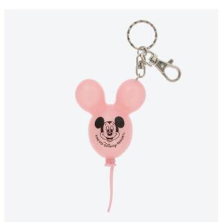 ディズニー(Disney)のピンク★バルーンキーホルダー 1点(キャラクターグッズ)