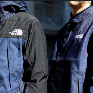 THE NORTH FACE - northface mountain light denim jacket M