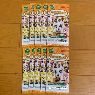Nintendo Switch - どうぶつの森 amiiboカード 第2弾 10パック