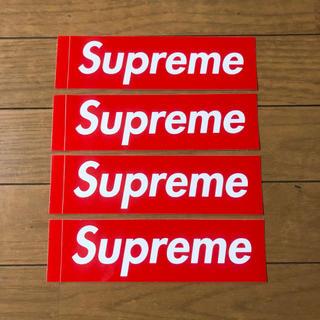 シュプリーム(Supreme)のSupreme ステッカー 4枚 新品 送料無料 Sticker Set(その他)