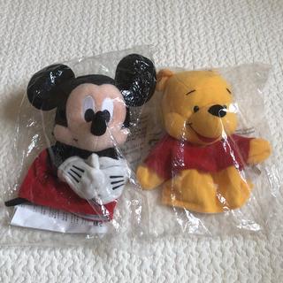 Disney - 【新品未開封】DWE パペット ミッキー ぷーさん セット