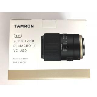 タムロン(TAMRON)の新品 未開封 タムロン tamron 90mm f2.8 F017E キヤノン用(レンズ(単焦点))