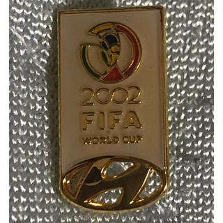 未使用! HYUNDAI 2002FIFAワールドカップ ピンバッジ 5個(記念品/関連グッズ)