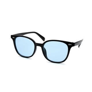 ウェリントン サングラス / R / ブルーレンズ / メンズ・レディース兼用(サングラス/メガネ)